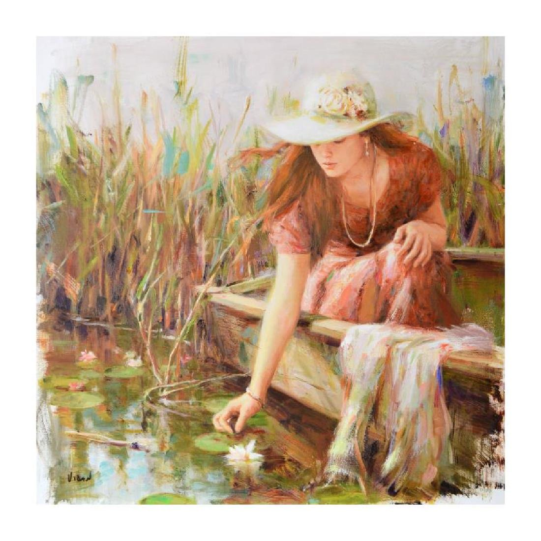 "Vidan ""By the Pond"" Giclee"