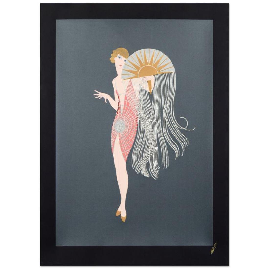 "Erte (1892-1990) - ""Flapper"" Limited Edition Serigraph"