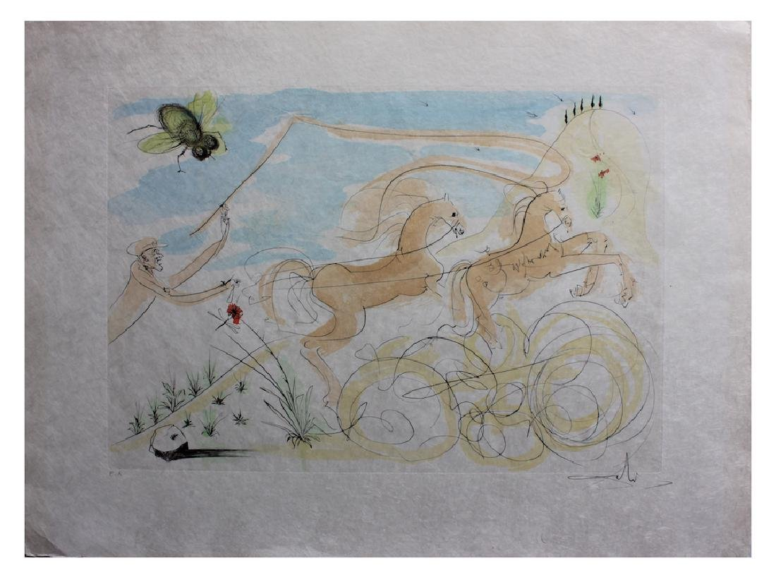 "Salvador Dali ""Le Coche et le Mouche (The Coach and the"
