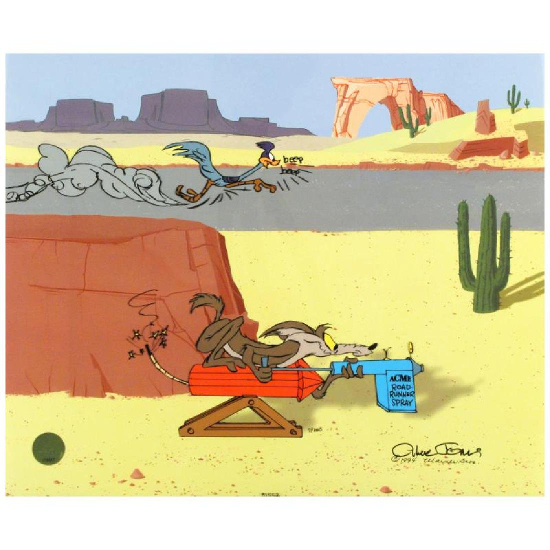 """Acme Road Runner Spray"" Sold Out Limited Edition"