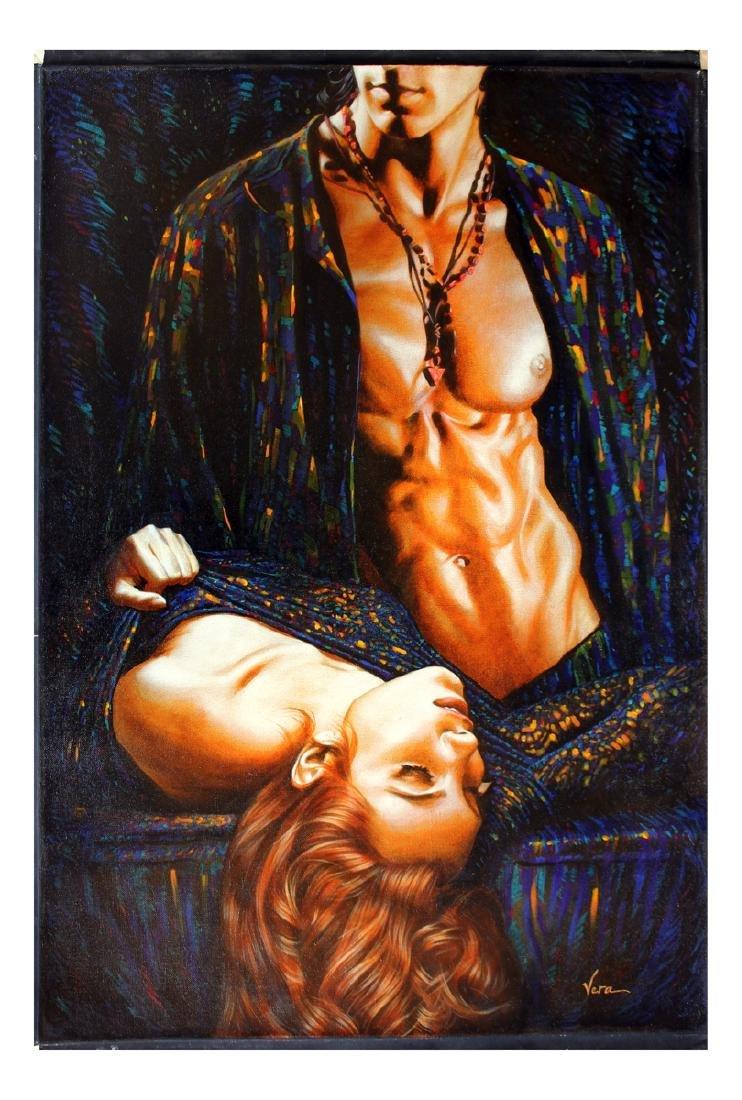 Vera V. Goncharenko Original Oil on Canvas Romantic