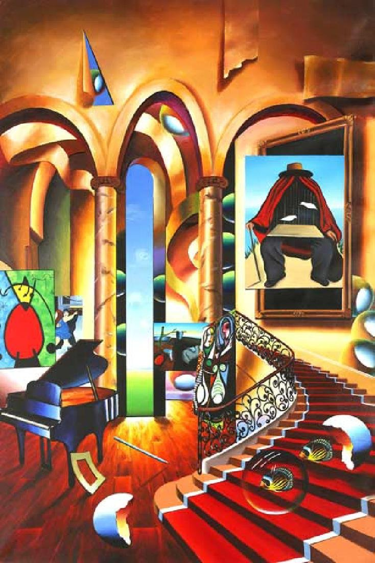 """Ferjo Giclee on Canvas """"Conclave of the Masters"""""""