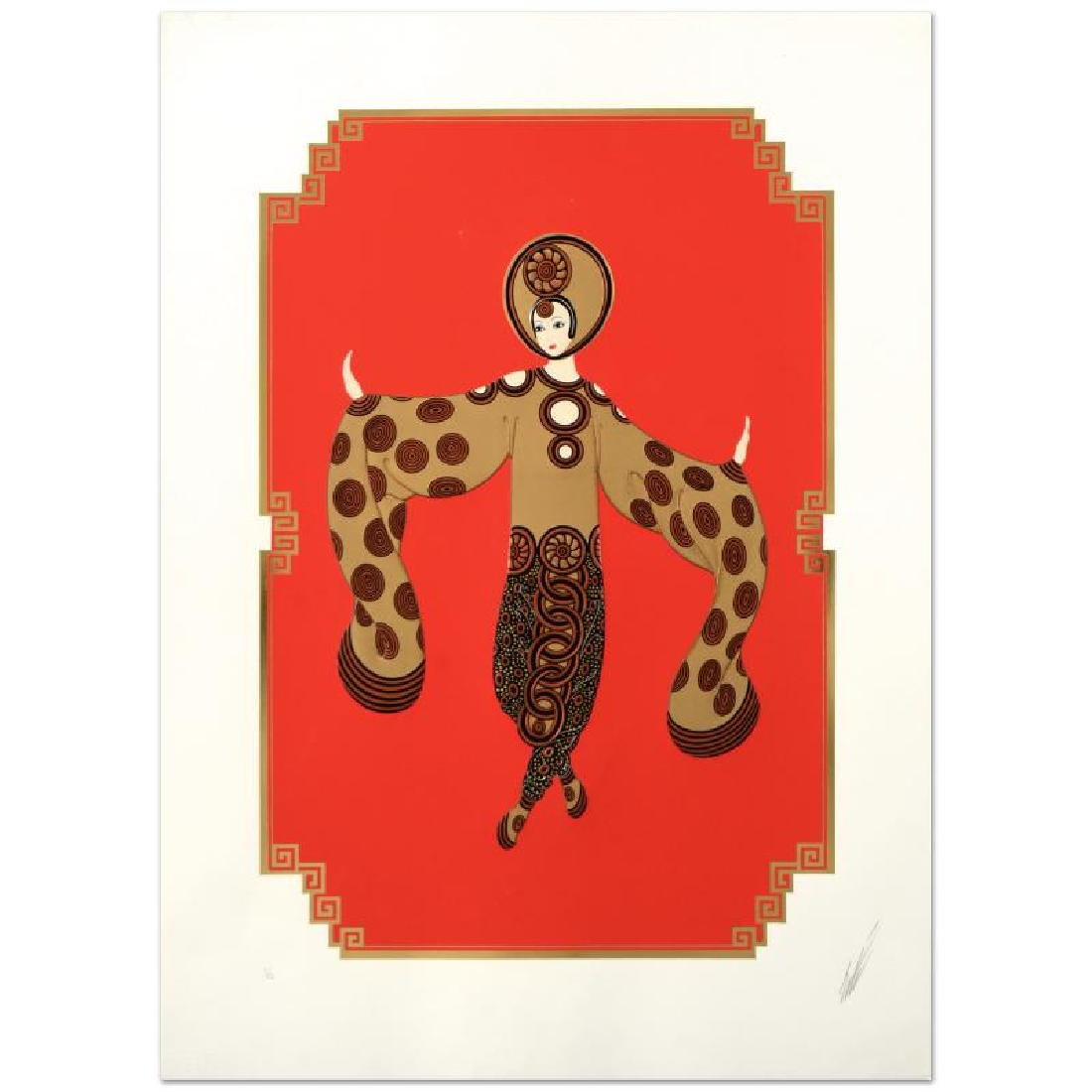 """Erte (1892-1990) """"Willow Tree"""" Limited Edition"""