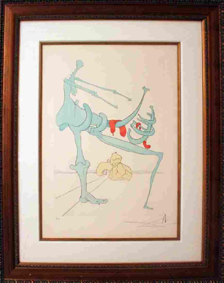 Salvador Dali Mother and Child LE HS/N Original