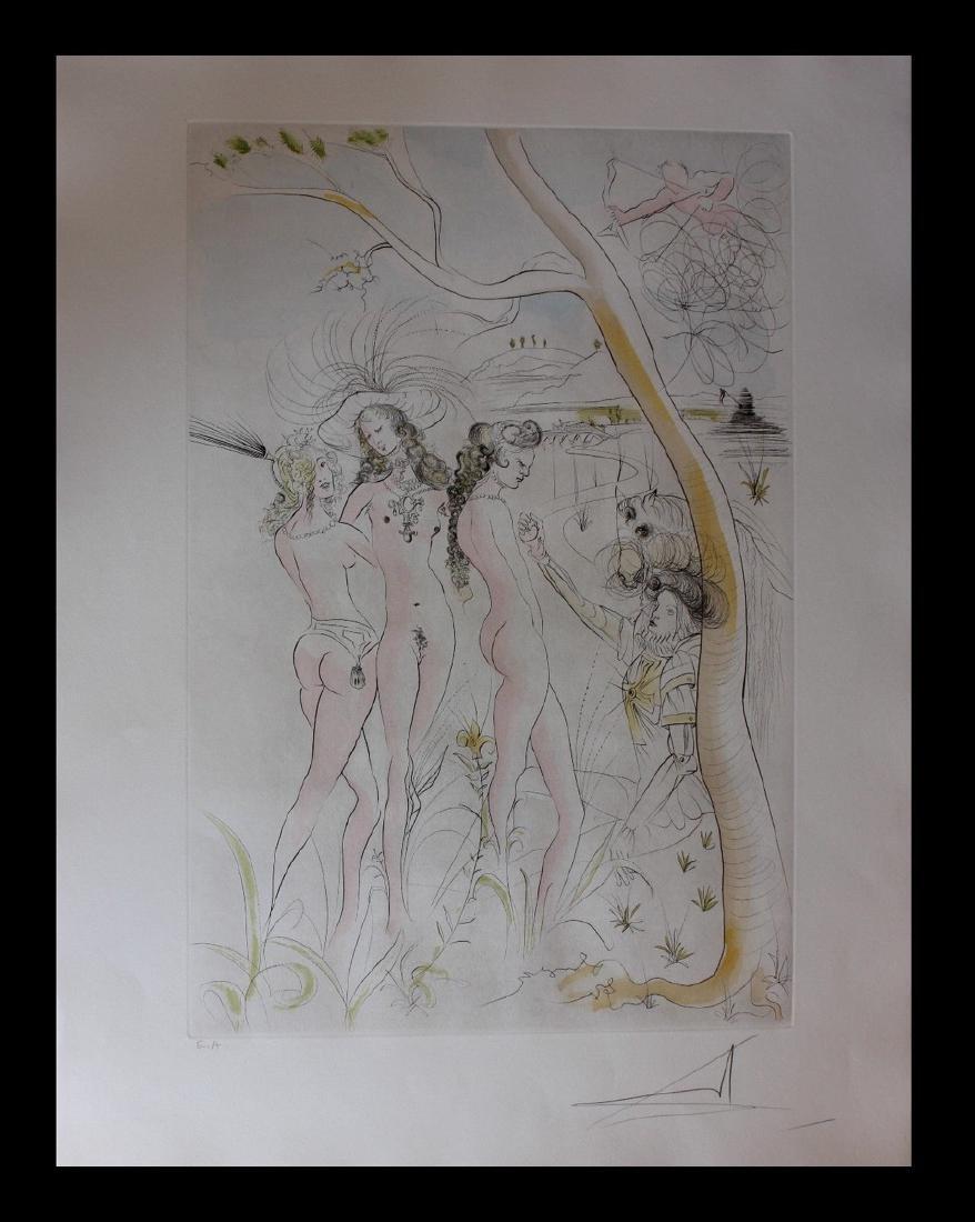 Salvador Dali The Judgment of Paris Original Engravings