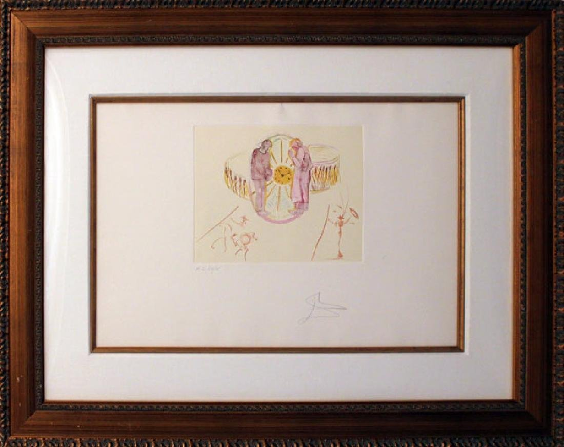 Salvador Dali Original Collages Etching One's Identity