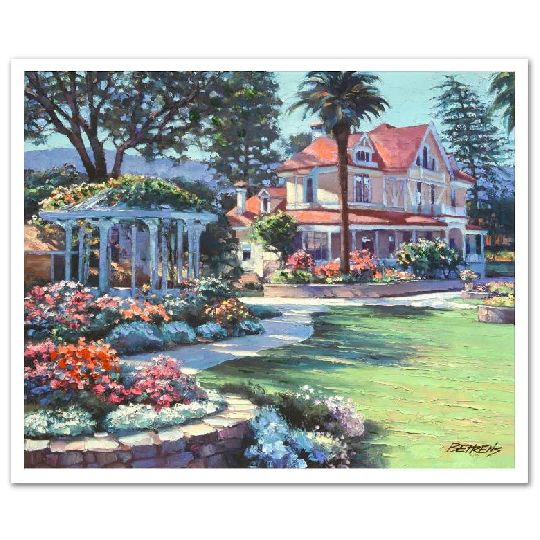 """Howard Behrens """"Napa Valley"""" Embellished Giclee on"""