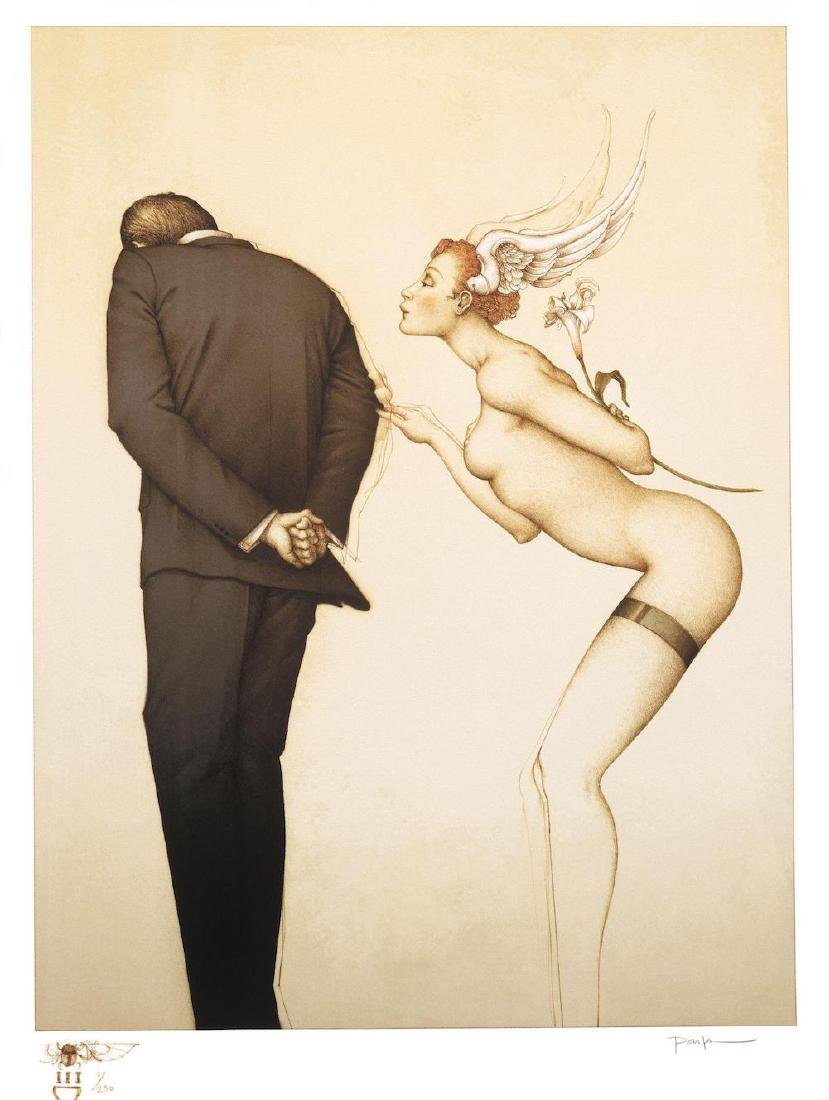 """Michael Parkes """"A Gift for the Disillusioned Man"""""""