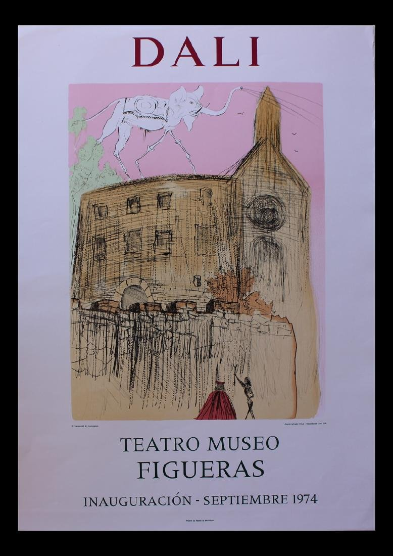 """Salvador Dalí Lithograph Exhibition """"Teatro Museo"""