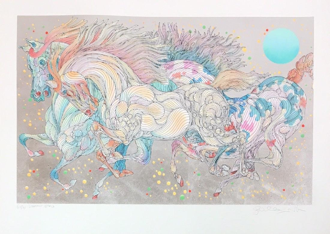 "Guillaume Azoulay ""Stardust Silver Leaf"" Signed Limited"