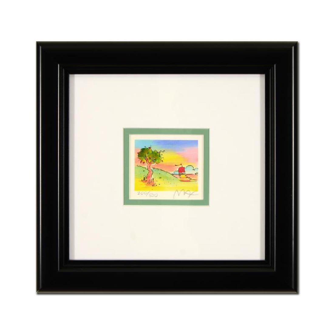 """Peter Max - """"Quiet Lake"""" Framed Limited Edition"""