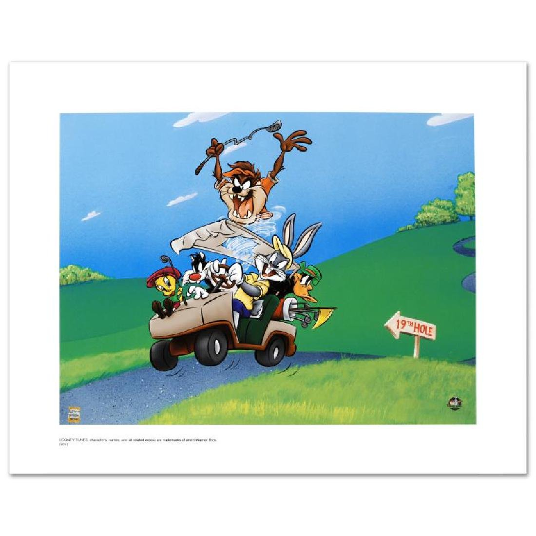 """""""To The 19th Hole"""" Limited Edition Giclee from Warner"""