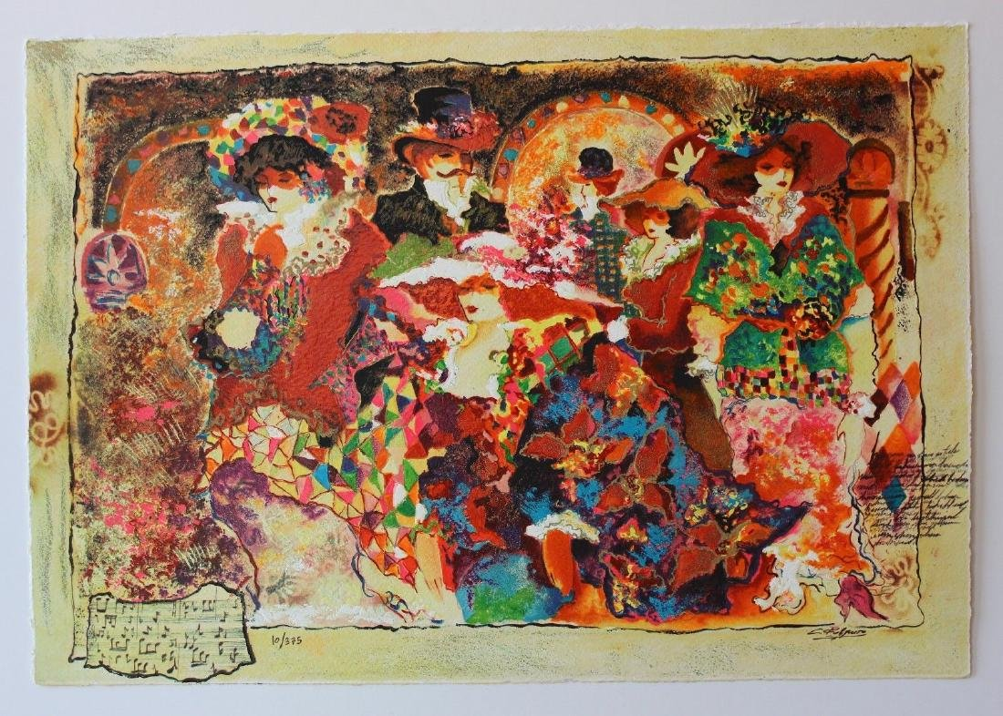 Sergey Kovrigo Set of 6 Serigraphs on paper LE HS/N COA