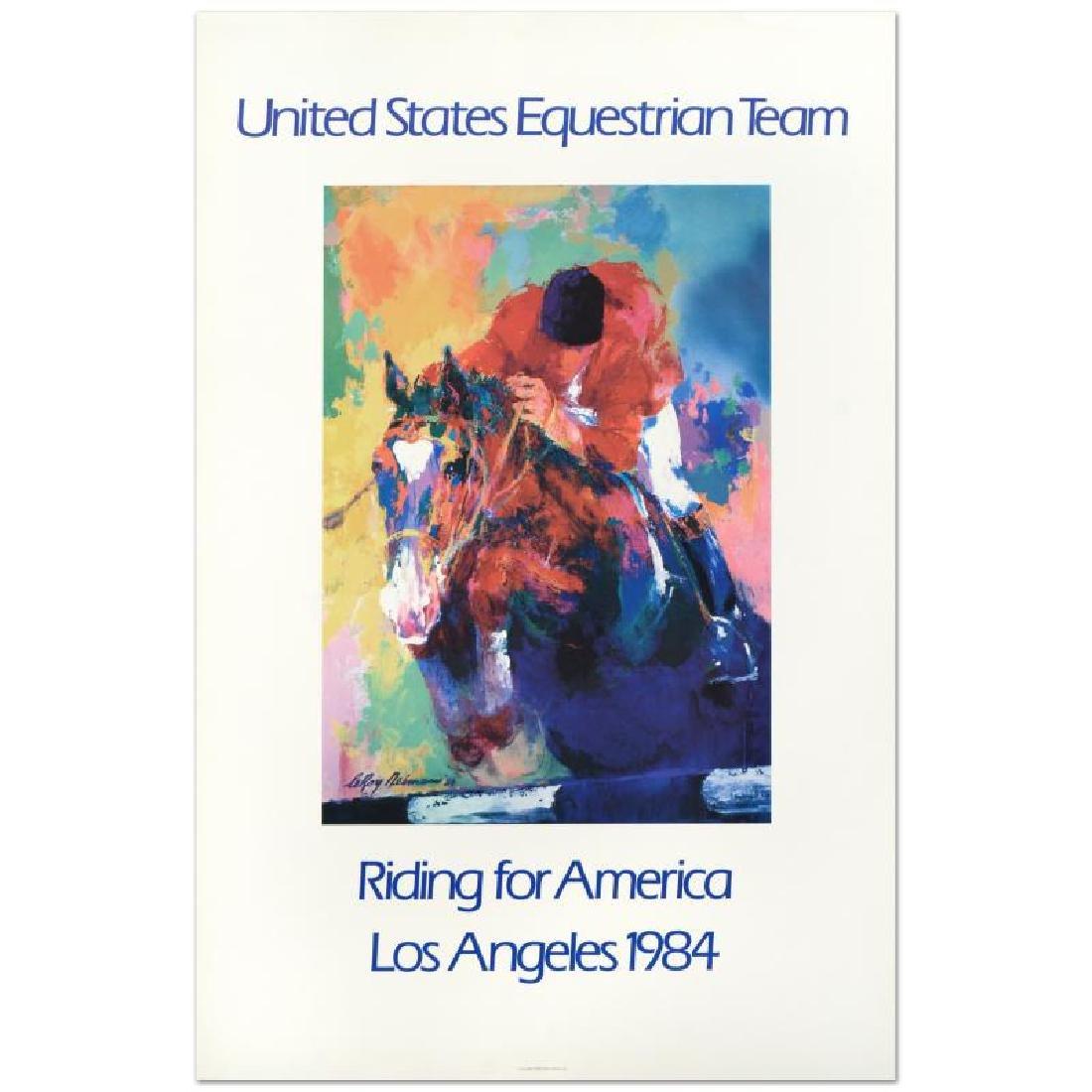 "Leroy Neiman (1921-2012) - ""United States Equestrian"