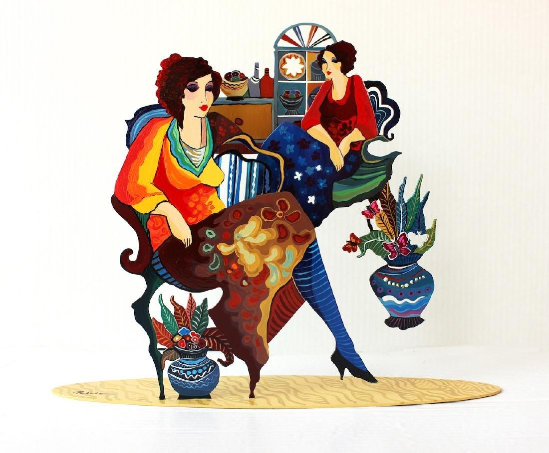 Original Mix Media Patricia Govezensky Table Sculpture