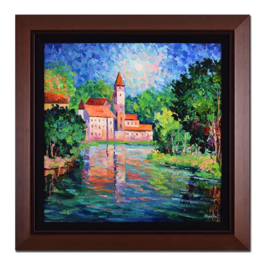 """Alexander Antanenka - """"Village Serenity"""" Framed"""