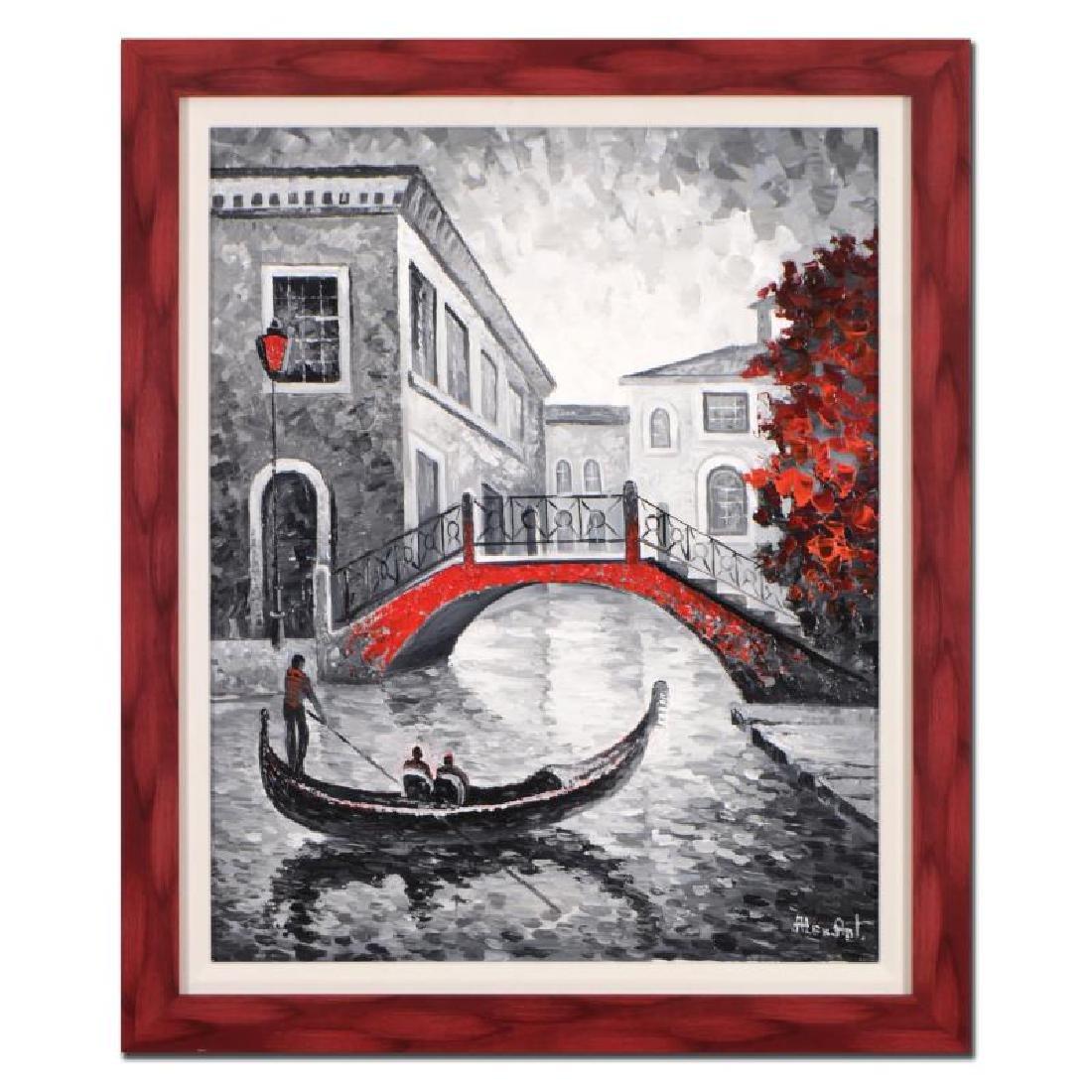 "Alexander Antanenka - ""Serene Canal Ride"" Framed"
