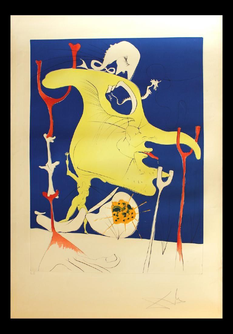 """Salvador Dali Original Engravings """"The Last Corner of"""