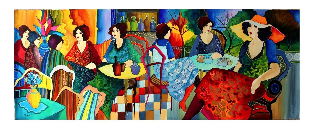Patricia Govezensky Original Large Watercolor