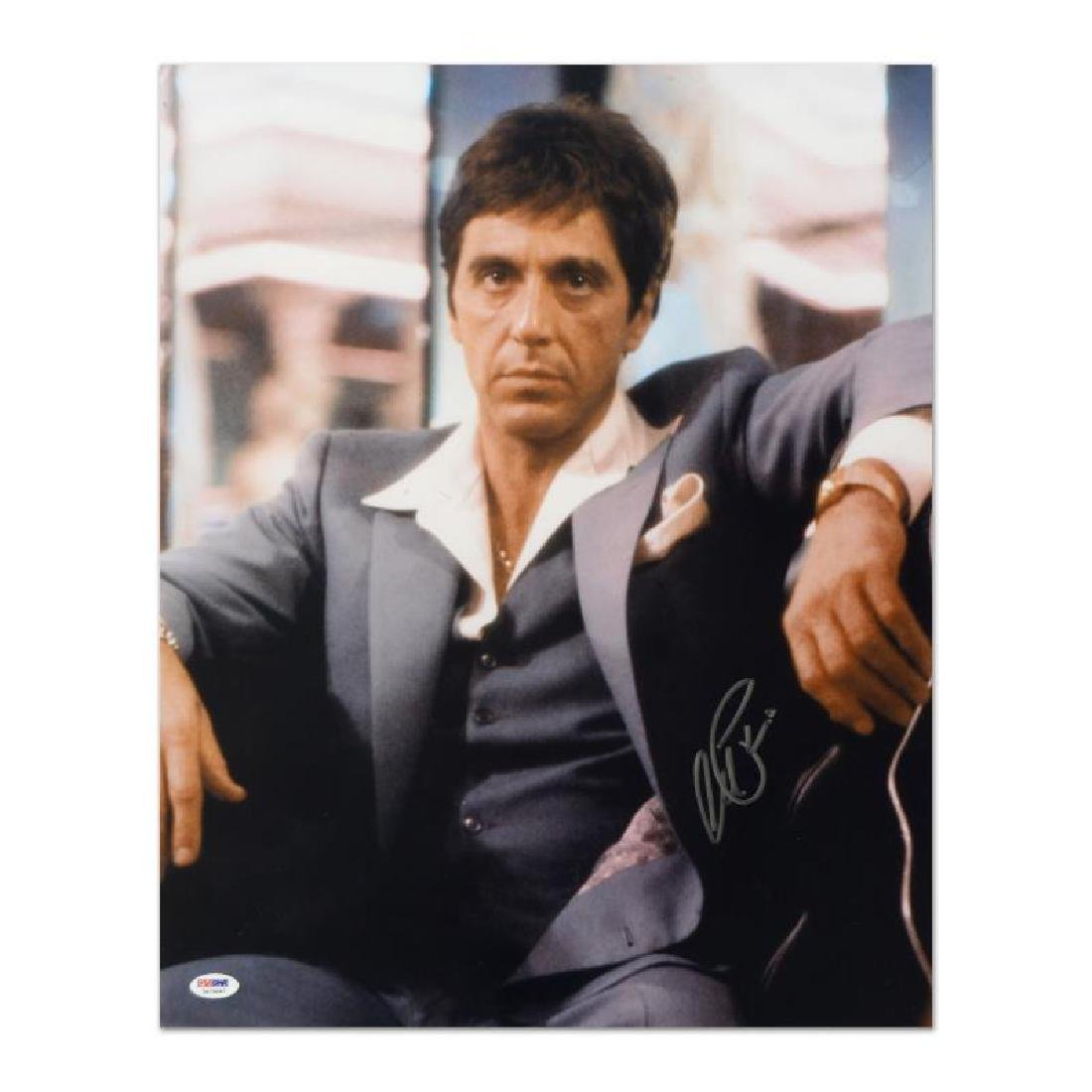 """Scarface"" Photo Autographed by Al Pacino with PSA/DNA"