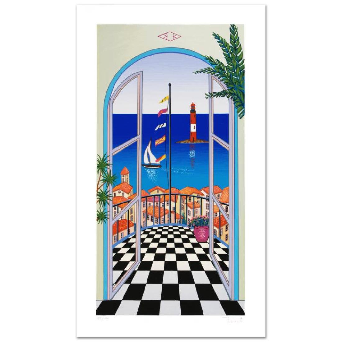 """""""Arcachon Lighthouse"""" Limited Edition Serigraph By"""