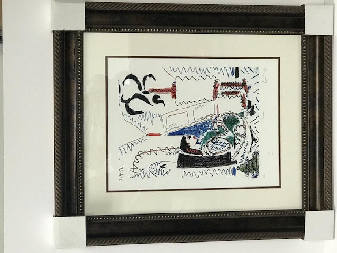 Pablo Picasso Custom Framed Print Limited Edition S&N