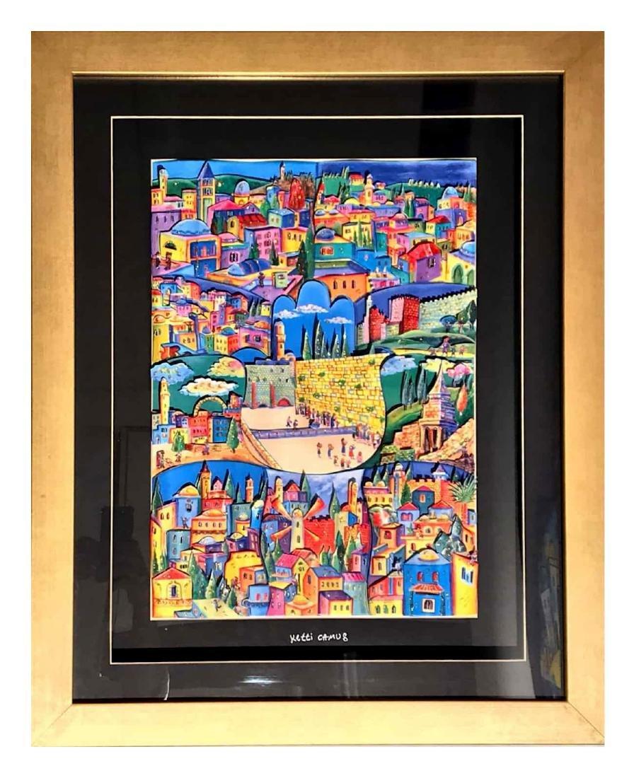 Ketti Camus Framed Decoupage 39x49cm - 3