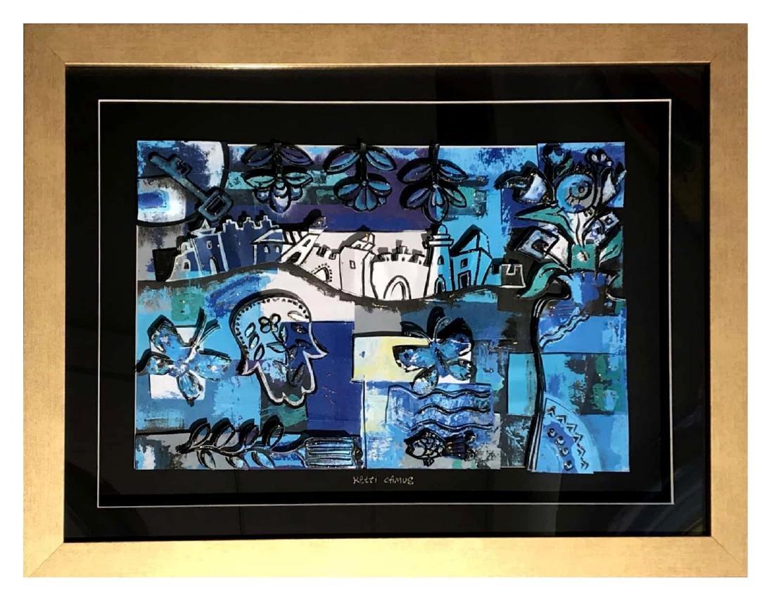 Ketti Camus Framed Decoupage 39x49cm