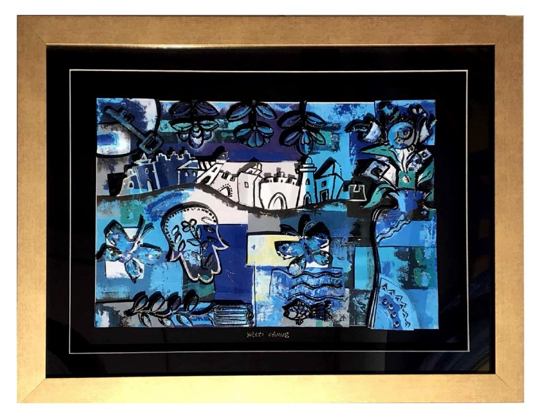 Ketti Camus Framed Decoupage 39x49cm - 2