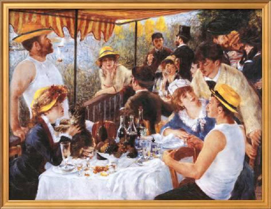 """Pierre-Auguste Renoir """"The Luncheon of the Boating"""