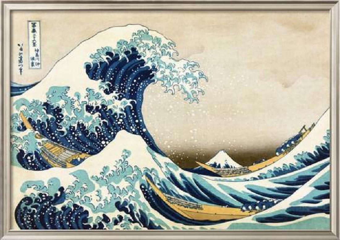 """Katsushika Hokusai """"The Great Wave at Kanagawa (from 36"""