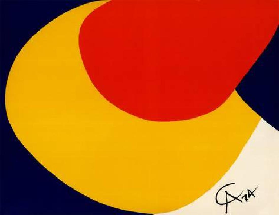 "Alexander Calder ""Convection"" Offset Lithograph"