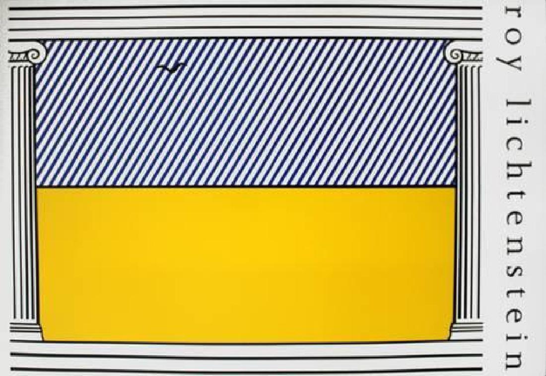 """Roy Lichtenstein """"Liberte"""" Limited Edition Lithograph"""