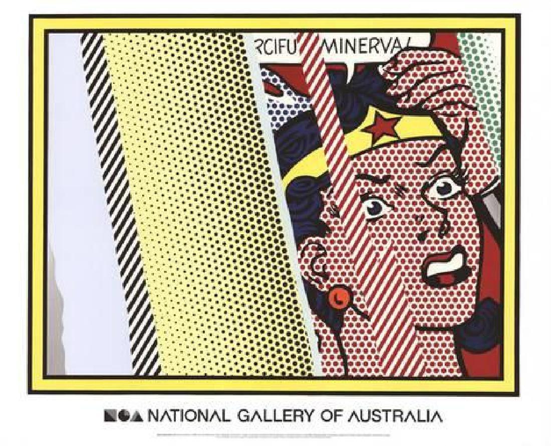 """Roy Lichtenstein """"Reflections on Minerva"""" Offset"""