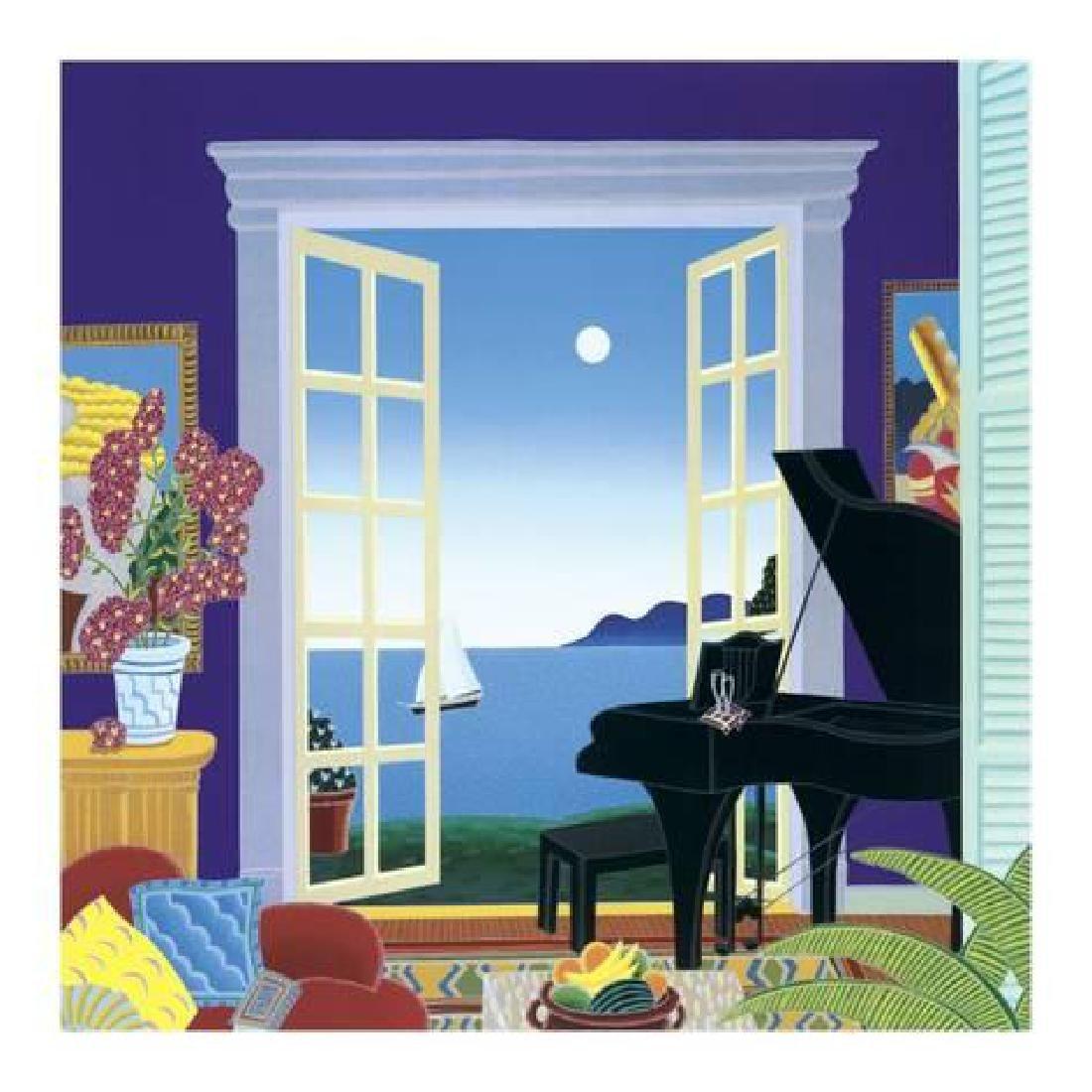 "Thomas Mcknight ""Sonata"" Lithograph"