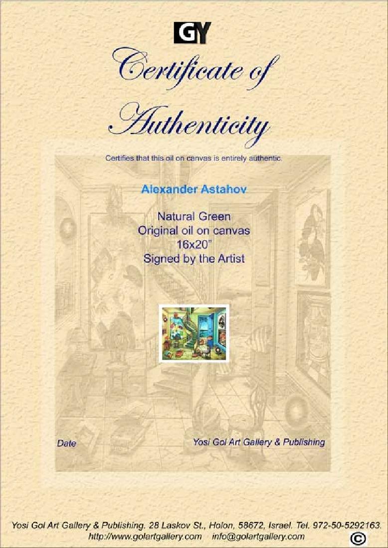"""Alexander Astahov """"Natural Green"""" Original Oil on - 3"""