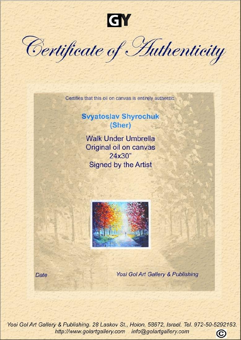 Svyatoslav Shyrochuk Original- Walk Under Umbrella - 2