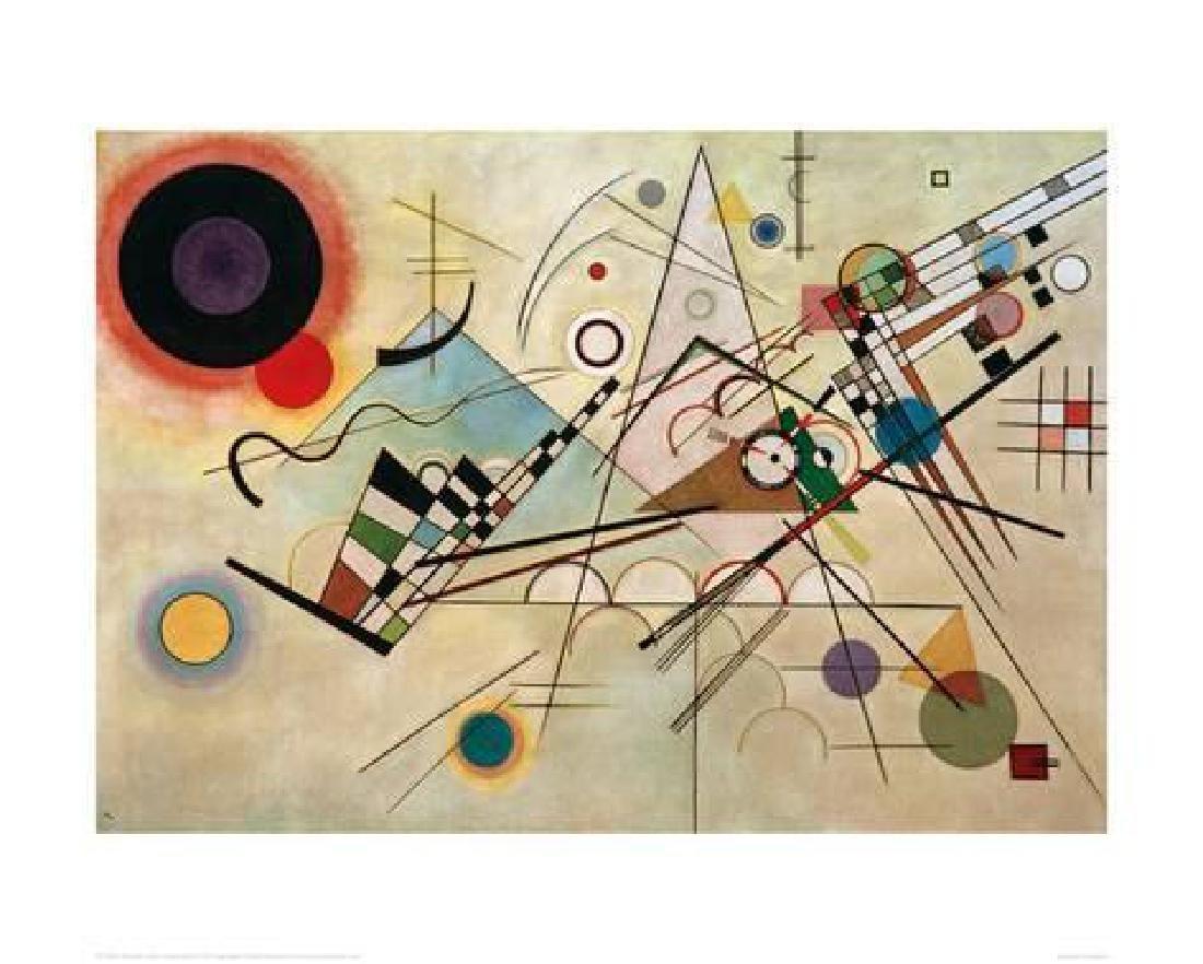 "Wassily Kandinsky ""Composition VIII, 1923"" Offset"