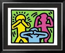 "Keith Haring ""Pop Shop (See No Evil, Hear No Evil,"