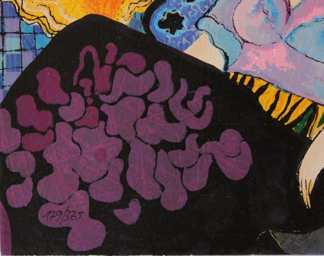 """Patricia Govezensky """"Noa"""" Limited Edition Serigraph - 3"""