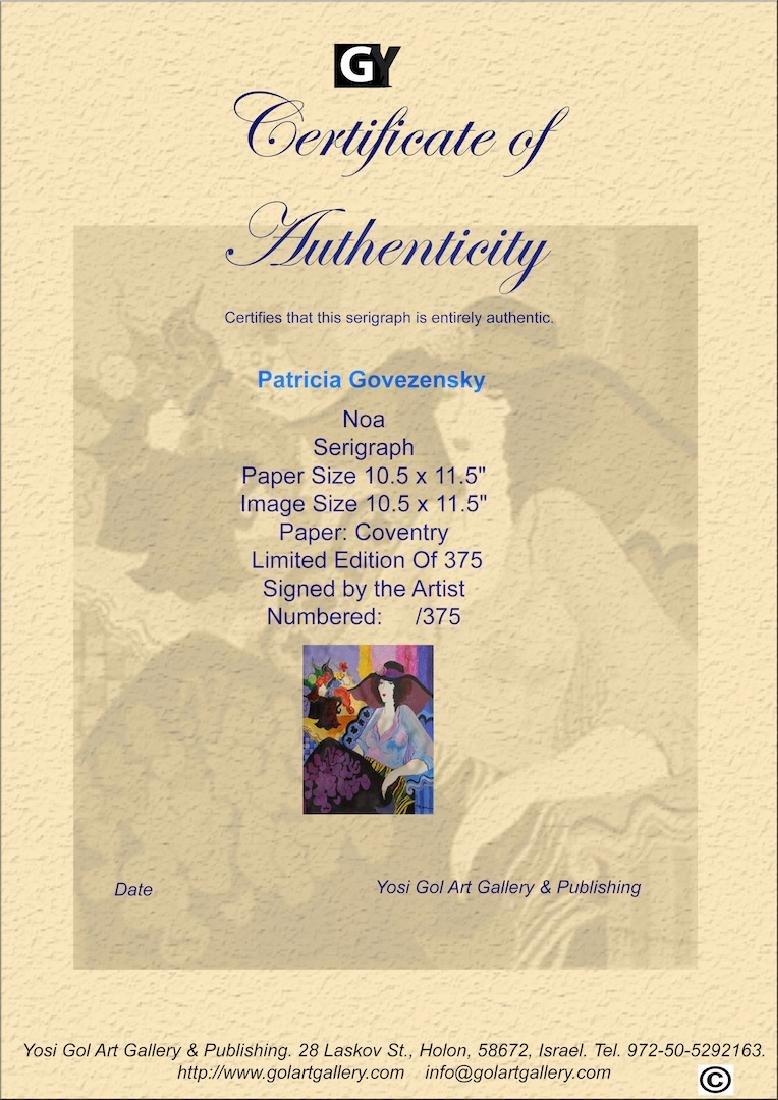 """Patricia Govezensky """"Noa"""" Limited Edition Serigraph - 4"""