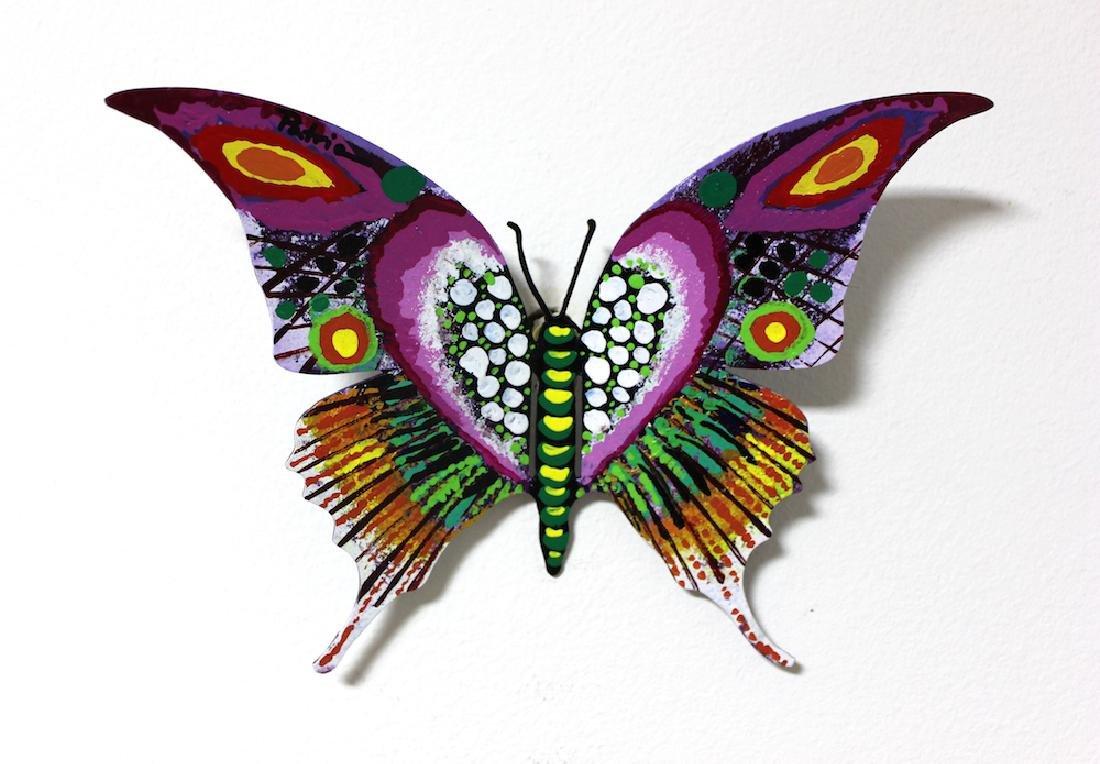 Patricia Govezensky Original Wall Butterfly 3D Metal