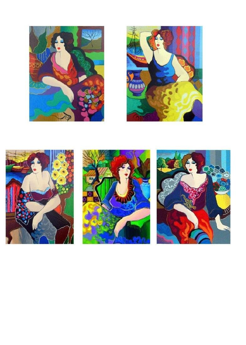 Patricia Govezensky Limited Edition HS/N Serigraphs