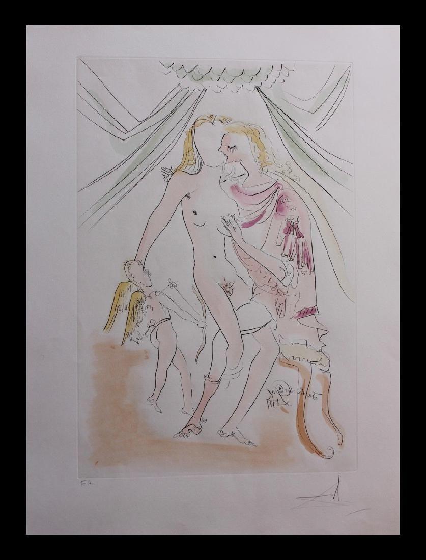 Salvador Dali- Venus, Mars et Cupidon Albrecht Durer