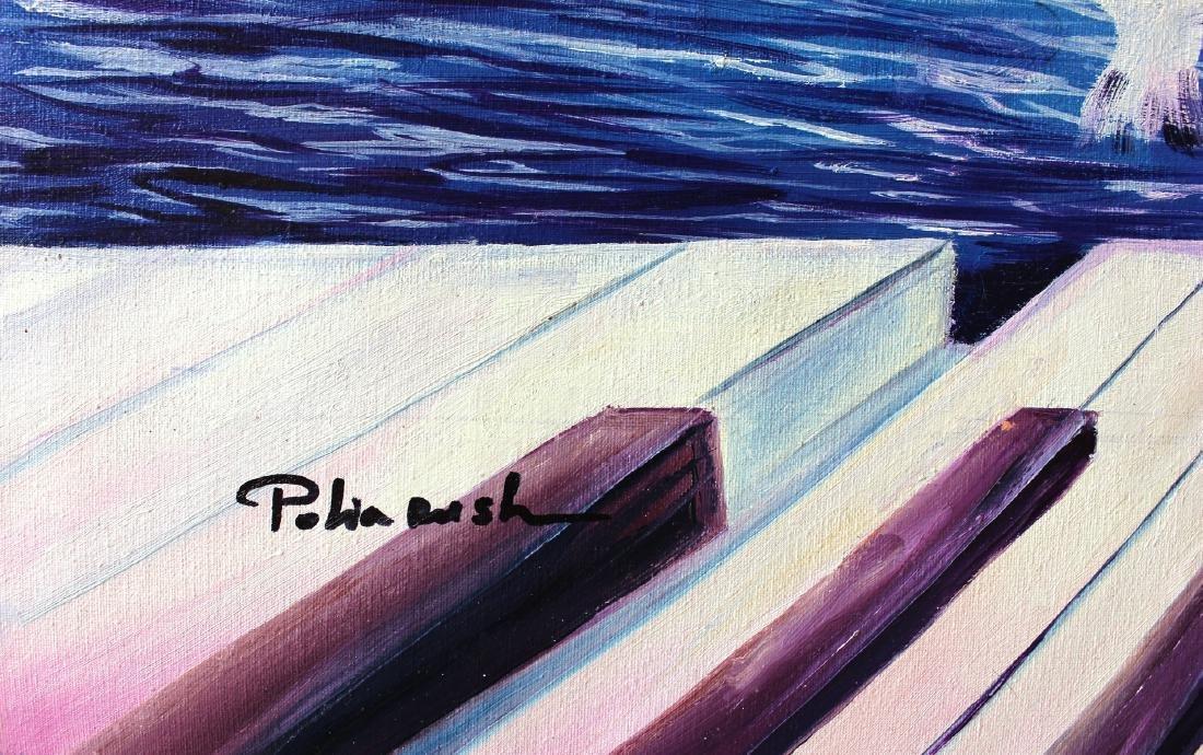 Eugene Poliarush Original Oil on Canvas Surreal Fine - 2