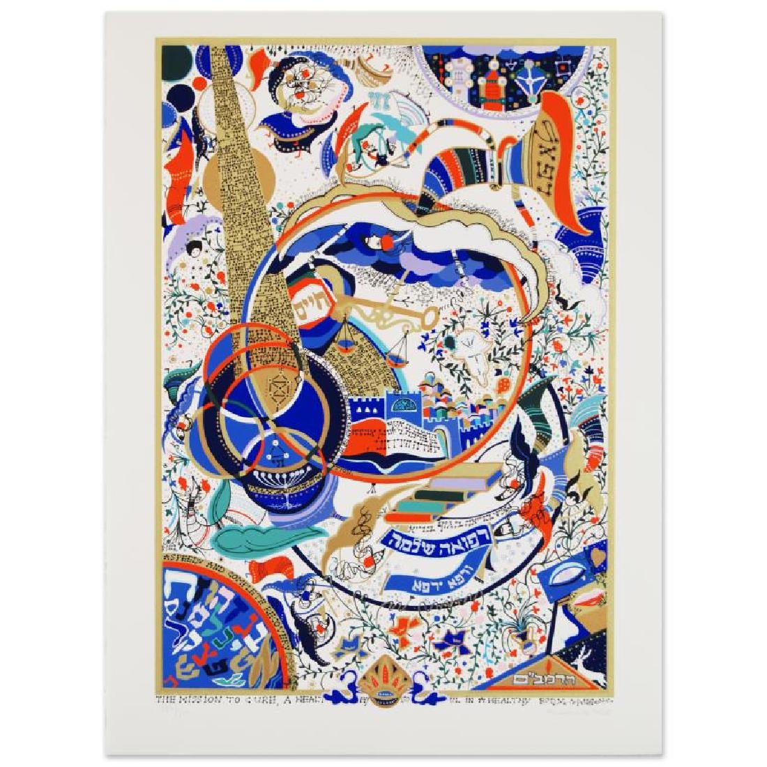 """""""Tribute to the Physician"""" Limited Edition Serigraph by"""