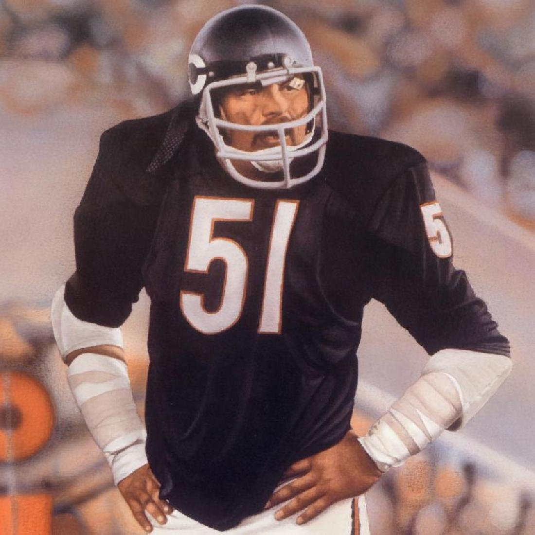 "Daniel M. Smith - ""Dick Butkus"" Limited Edition - 2"