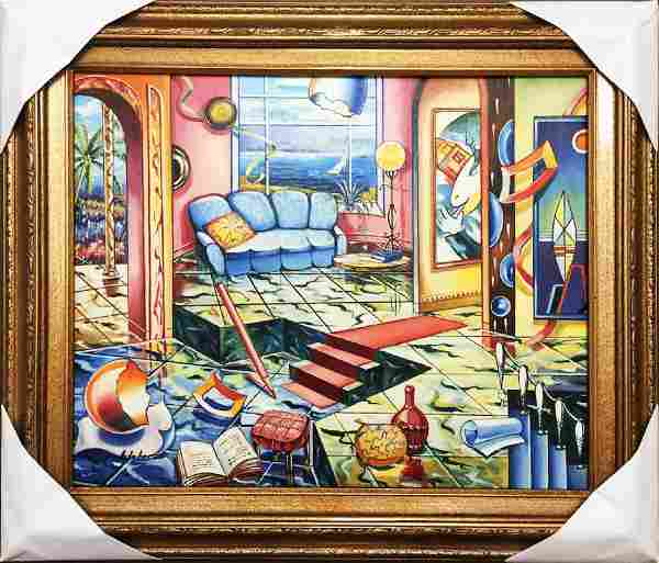 Alexander Astahov Original Oil on Canvas Framed