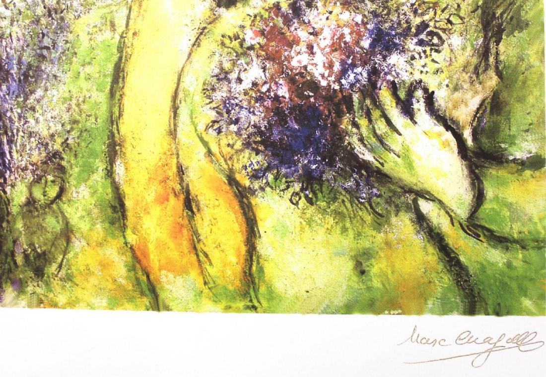 Marc Chagall Limited Edition Lithograph Signed & - 2