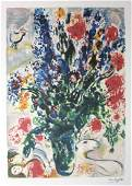 Marc Chagall Limited Edition Lithograph Signed